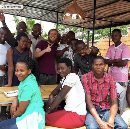 Question Coffee Bar: Baristas in training from all over Rwanda come to visit our shop
