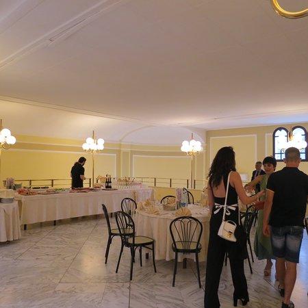 Il Cenacolo: uno scorcio della sala pranzo