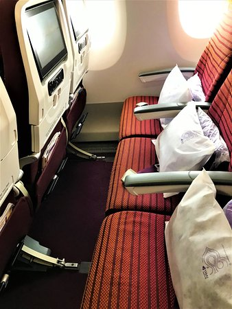 Thai Airways: Legroom
