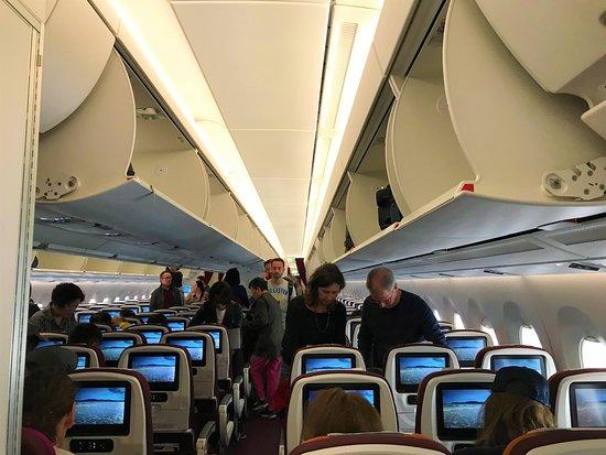 Thai Airways: During boarding