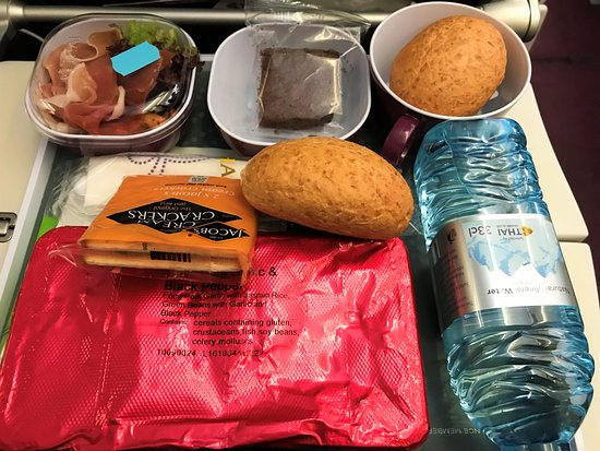 Thai Airways: Food onboard