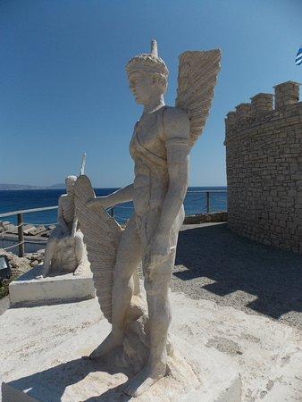 Icaros & Daedalus Statues: Dädalus