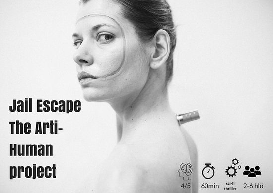 InsideOut Productions: Jail Escape The Arti-Human Project @Katajanokka