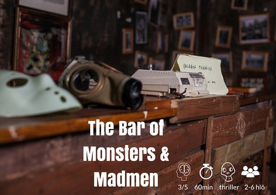 InsideOut Productions: The Bar Of Monsters & Madmen  @Vuosaari
