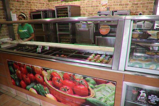 Subway: Lots of choices