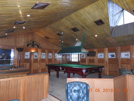 White Meadows - Manali : Lovely area to relax, read or play snooker