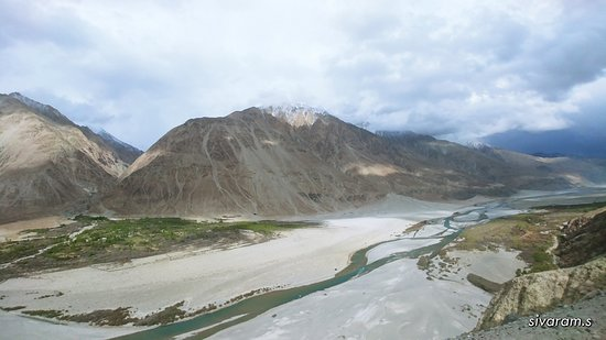 Nubra Valley, Hindistan: Agham to Sumu - Shyok River Valley