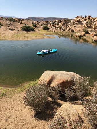 Le Haut Desert Aerie: Just got 3 new SUP paddleboards for enjoying our new lake!