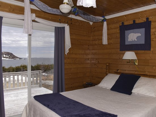 Viking Village Bed and Breakfast: Ocean View in Iceberg Alley with Patio & Full Breakfast