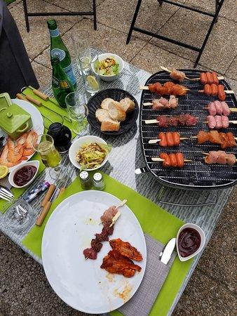 Le Domaine des Bords de Marne: Barbecue party !