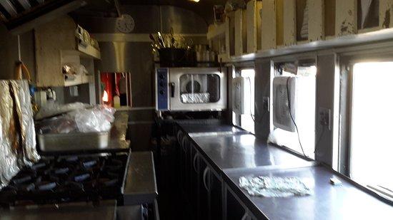 Rovos Rail: The kitchen