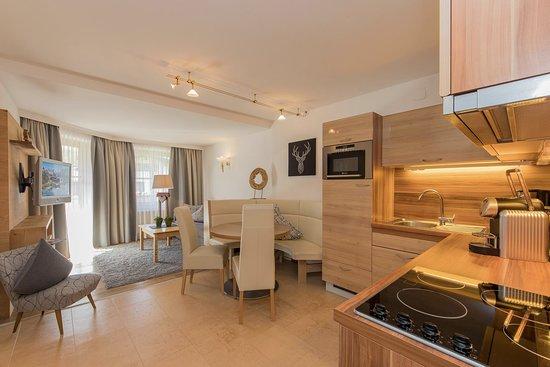 Appartements-Pension Renberg : Wohnzimmer