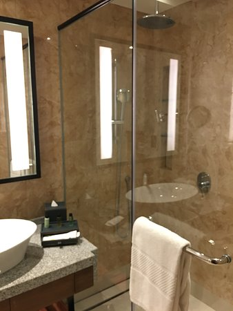 Amari Johor Bahru: Neat and clean bathroom with shower only