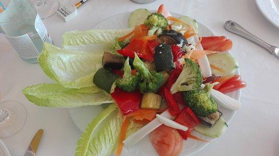 Gio & Posit Pizzeria Restaurante: ensalada