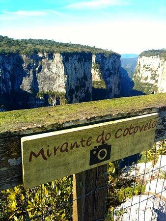 Itaimbezinho Canyon: Uma das fotos mais bacanas que tirei no Mirante!