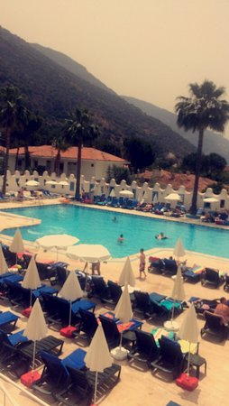 Karbel Hotel: The view from the balcony