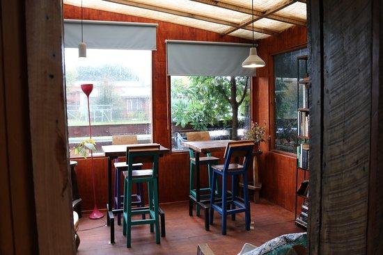 Lounge Brasil Hosteria Boutique: Area aberta ao público onde é servida a ótima pizza