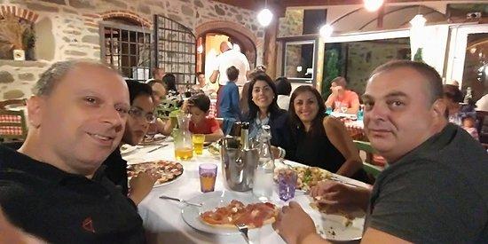 Nievole, Italy: Pizza