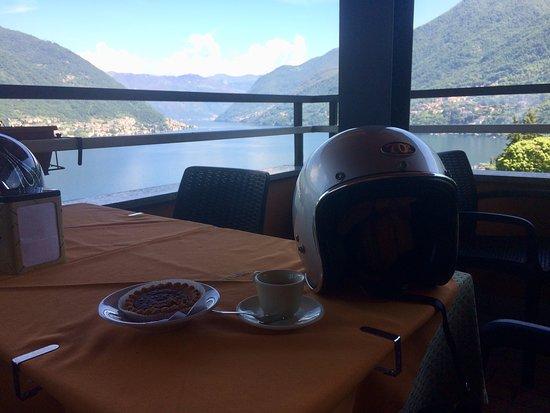 Faggeto Lario, Włochy: terrazza panoramica