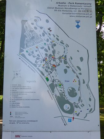 Arkadia Park: Park Map
