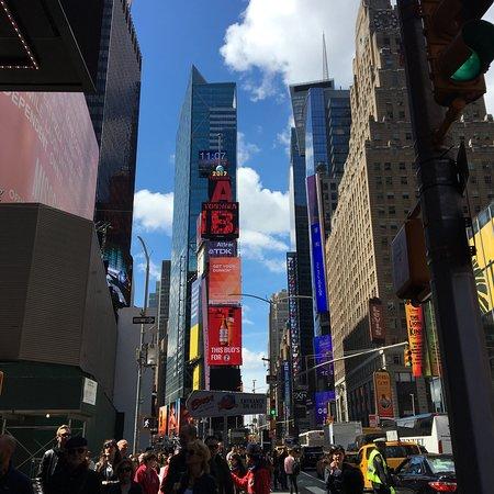 时代广场照片
