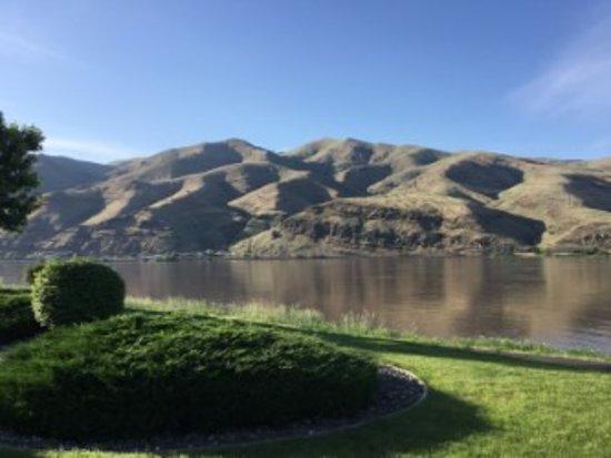 Premier RV Resort at Granite Lake: View from site 35