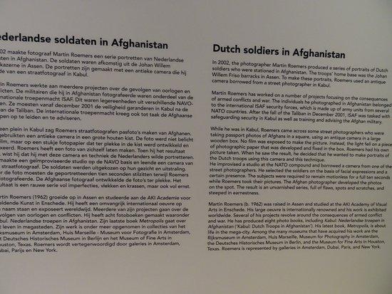 Drents Museum: Nederlandse Soldaten in Afghanistan