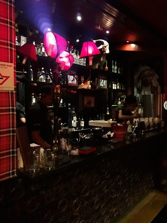 Chess Pub: Bar externo.