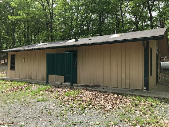 Timothy Lake North RV: comfort station closed