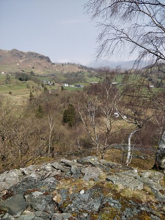 Little Langdale, UK: View from Above the Quarries