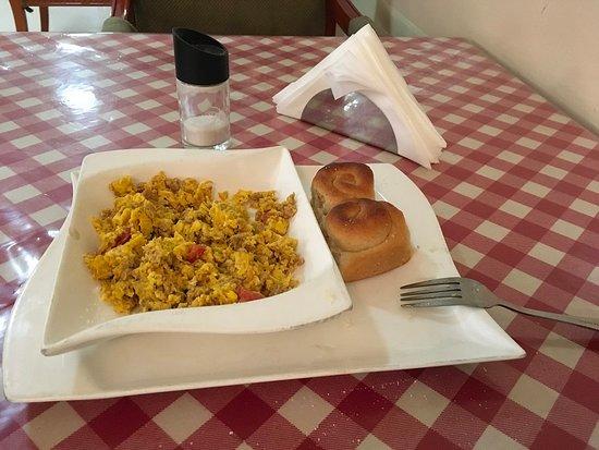 Jijiga, Ethiopia: Poor breakfast