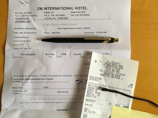 Jijiga, Ethiopië: Room rate is considerable