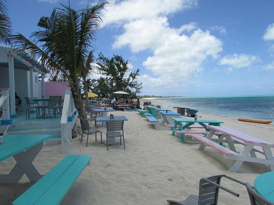 da Conch Shack : Beach view of restaurant
