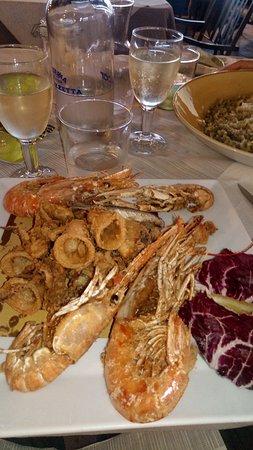 La Piazzetta: fritto misto