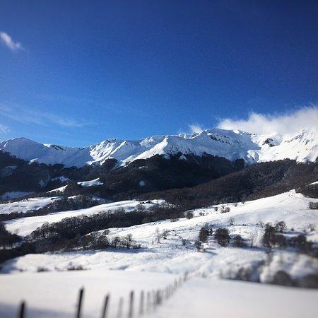 Mandailles-Saint-Julien, Frankrike: même en hiver, la rando en raquette est bienvenue !