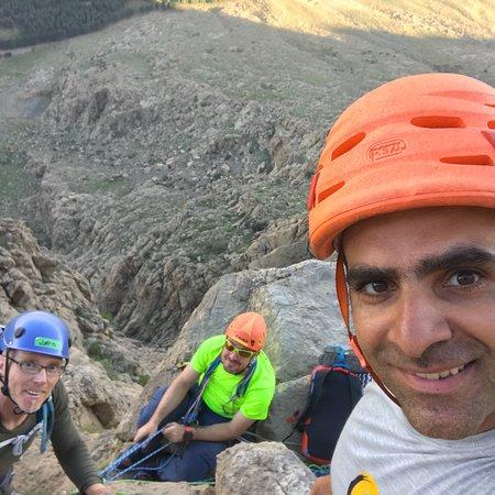 Iran Climbing Guide: Climbing bisotun wall, Kermanshah Iran.