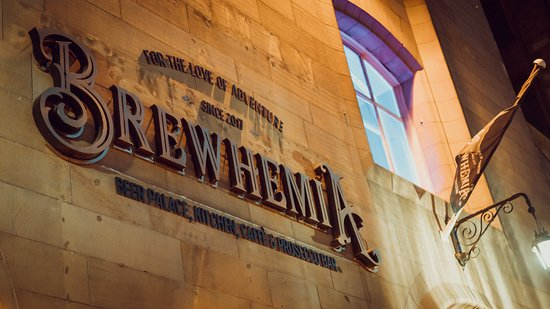 Brewhemia : Scotland's only beer palace