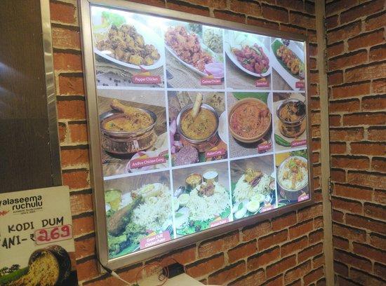 Rayalaseema Ruchulu: Dishes on Display