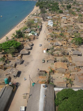 Cape Maclear, Malawi: Chembe village, where Gecko Lounge fits in beautifully.