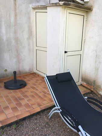 Domaine de Licetto: Terrasse ;)