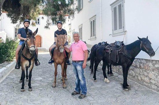 Argyris' Hydra Island Horse Treks