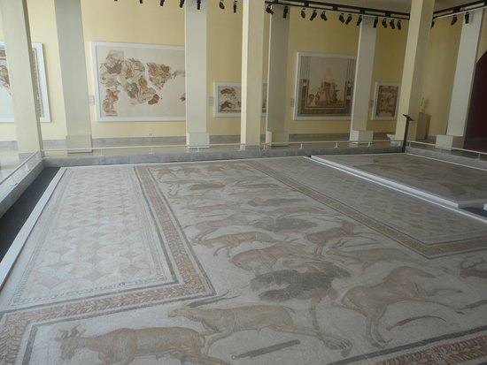 Sousse Archaeological Museum: Mosaics at the Sousse Museum.