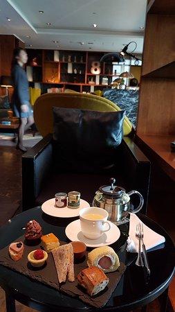 Hotel ICON: Above & Beyond Club Tea Set (Yummy!)