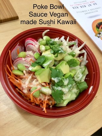 Sushi Kawaii: POKE VEGAN SAUCE CACAHUETE/MISO