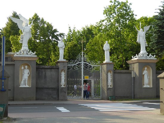 Basilica of Our Lady of Lichen: Campus Entrance
