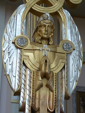 Basilica of Our Lady of Lichen: Interior Art