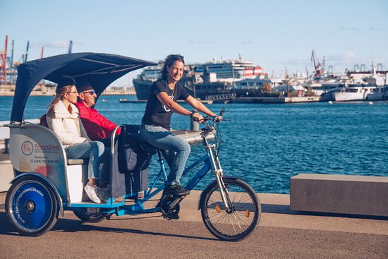 Tricycling Valencia Bike & Rickshaw tours