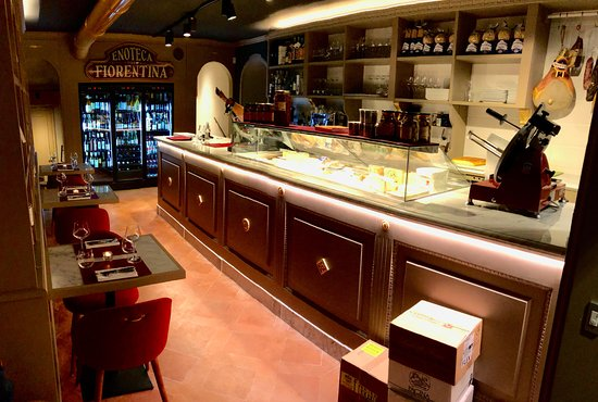 Enoteca Fiorentina: Bancone