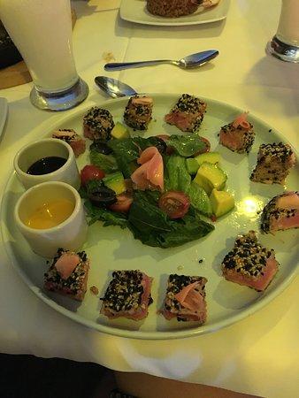 La Regatta : Atum selado com crosta de gergelim