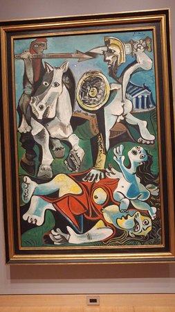 พิพิธภัณฑ์วิจิตรศิลป์: Picasso's Rape of the Sabine Women (1963)